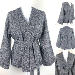 Eileen Fisher Handwoven Organic Cotton Jacket XS